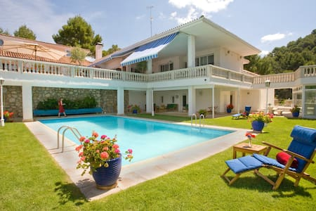 El Vergel, stunning lakeside Villa 1 hr Madrid. - Villa
