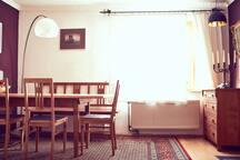 Wohnung im Stadtzentrum, liebevoll ausgestattet