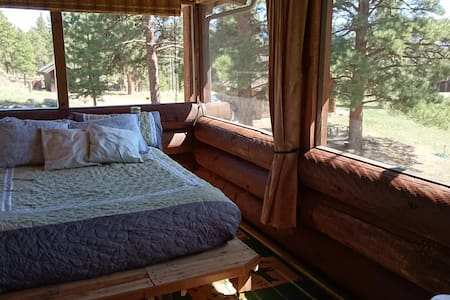 Mountain view sleeping porch  - Other