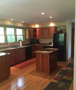 Lakehouse with sunset views on Pine River Pond - Wakefield - Casa