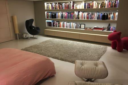 Near GENEVA : large modern suite (50 m2) - Ganze Etage