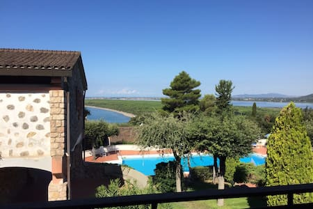 ROOM WITH A (FANTASTIC!) VIEW - Ansedonia - Apartment