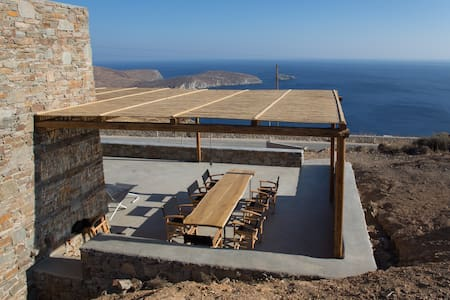 Deep Blue, awesome Aegean sea view villa / House 1 - Serifos - Haus
