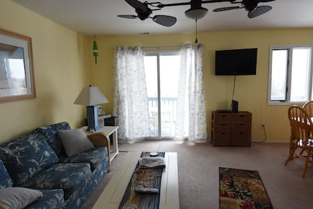 Lovely 2BD condo, 5 parking spaces! - West Cape May