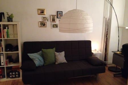 Zimmer in schöner Altbauwohnung in zentraler Lage - Apartemen
