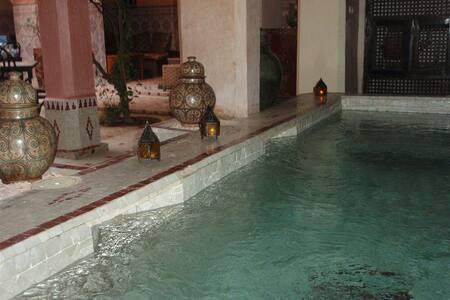 Marrakech nights in beautiful riad