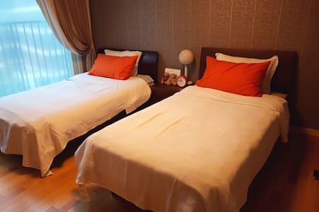 Family-friendly apt(Suwon Station) - Apartmen