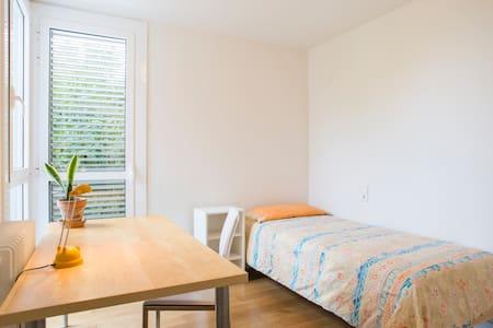 Habitación individual casa diseño - Hus