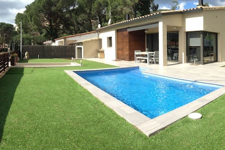 New house with pool + WiFi in Calonge for families - Calonge - Huis