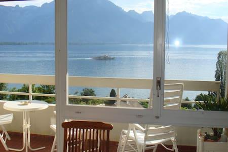 Studio LA MOUETTE Montreux - Veytaux - Apartament