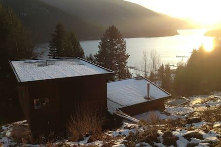 Epic View Modern House by Kootenay Lake - Nelson