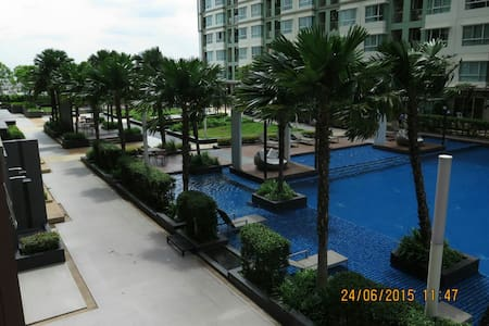 30 Q2 1BR Nice View Windy Free wifi - Wohnung