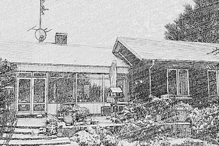 Hus med stor have og 3 katte - Townhouse