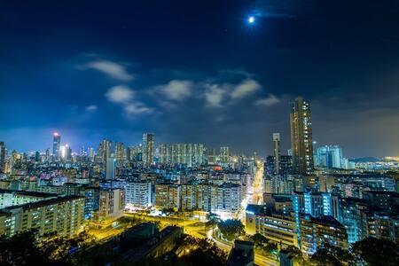 [B] 深水埗-Deluxe house BAR 4kTV nice bedRm 2-3 ppl - Hong Kong - Apartment
