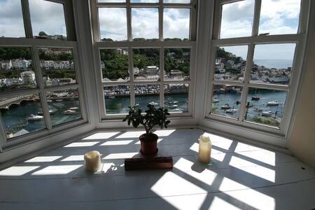 Original coastguard cottages looe - Looe - Apartment