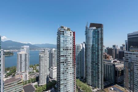 Downtown Vancouver Room ensuit bath - Vancouver - Apartment