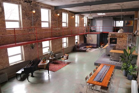 Former Candy Factory Home Studio - Chicago