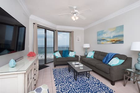 Oceanfront 11th Floor Condo 2BR/2BA - Orange Beach