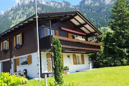 In the❤of Switzerland's Swiss Alps - Haus