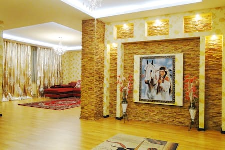 Luxury apartment with two bedrooms - Almaty - Apartment