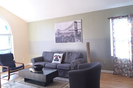 Be Close to NYC!10mins to NYC. - Jersey City - Apartment