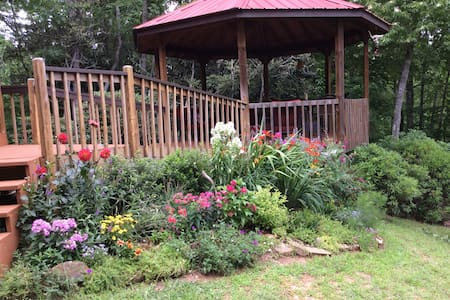 Mountain Retreat near Brevard - Brevard - Huis