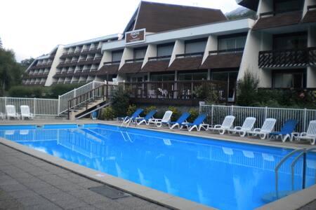 Studio 4P piscine résidence Maeva - Kondominium