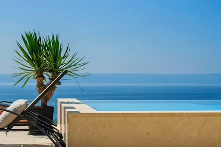 Lovely house with pool and magnificent sea view - Selca