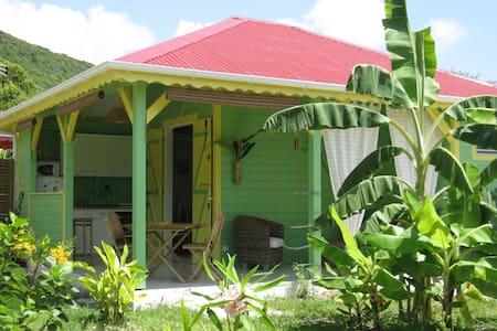 Citron Vert, bungalow créole proche de la plage ! - Bungaló