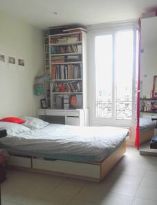 Sunny studio by Parc des Buttes Chaumont 20m2 - Apartment