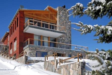 Casa Farellones Middle Apartment -for great skiing - Faház