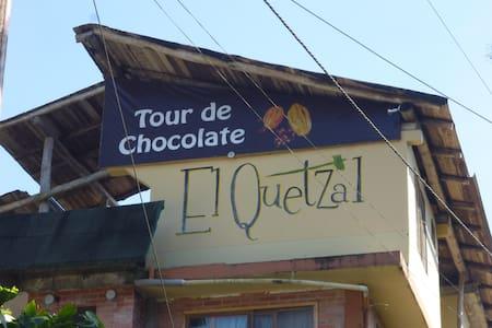 El Quetzal Chocolate room #3 - Mindo