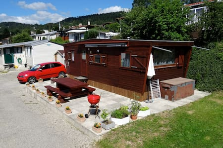 Mobil-home camping lac des Brenets - Bungalow