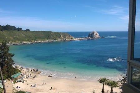 Dpto vista al mar - Algarrobo - Algarrobo