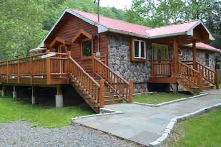 Catskill Delaware River Custom Log - Σπίτι