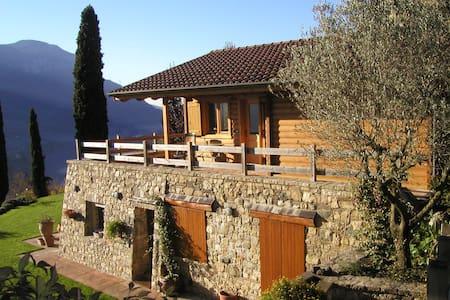 chalet panoramico vista lago garden - Ranzanico