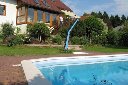 Lovely Country House with Swimming Pool - Hueb