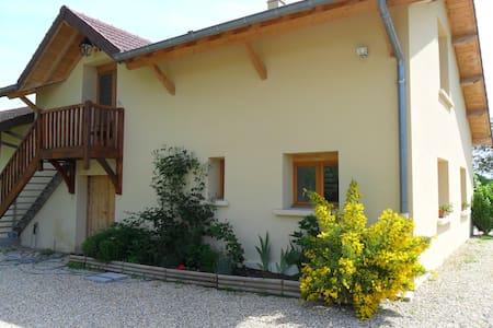 maison d'hôtes - Romenay - House