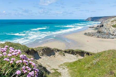 Coastal House Porthtowan beach Cornwall - Porthtowan - Huis