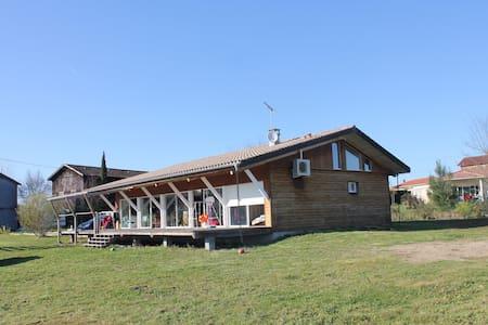 Maison ossature bois - Fauillet - Ev