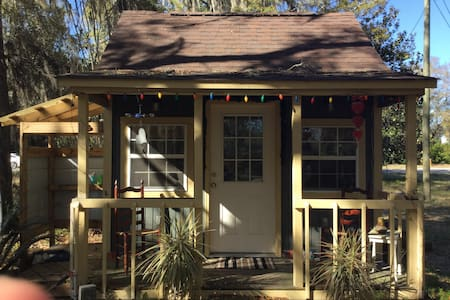 Artist's dream cabin under the oaks - Santa Rosa Beach - Hus