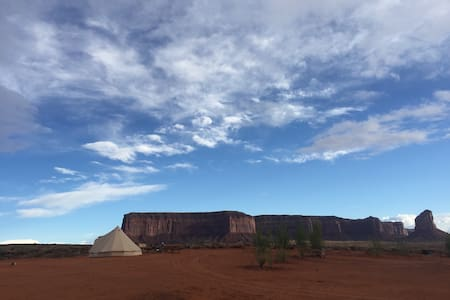 Tent 2-4ppl Canvas Glamping - Oljato-Monument Valley - Tenda