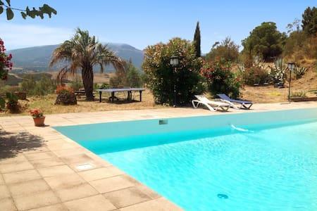 Stunning mansion 30km from Argeles - Castelnou - Slott