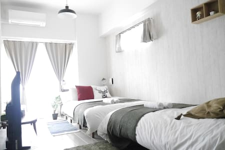 Near station/Easy to access to Namba/Max 4pax/01 - Appartement