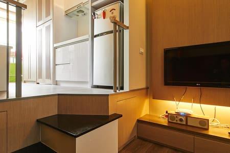 Shihlin MRT#LOFT@士林角落 - Lägenhet