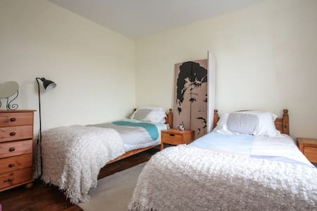 Large room with two single beds - Ilford - House
