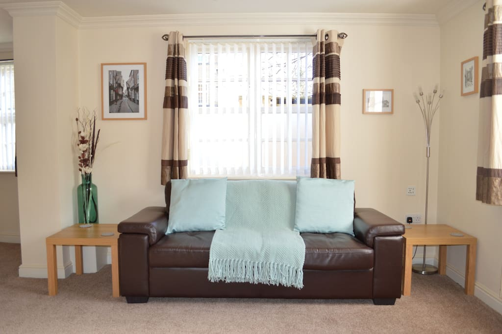 3 Seat Sofa & Double Bed