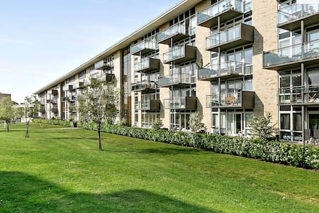 Modern apartment near to S-train shopping & nature - Kongens Lyngby - Apartment