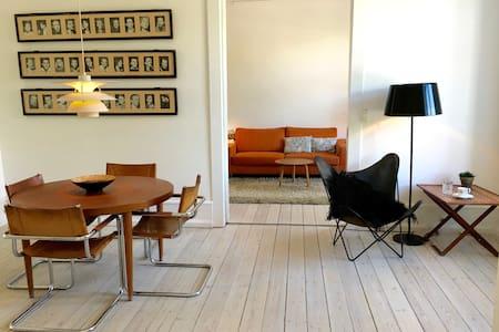Large modern central apt with lake view - København - Apartment