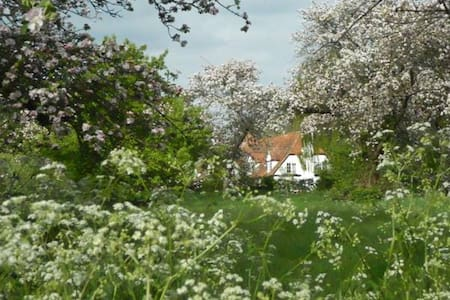 Double room with ensuite,  beautiful quiet village - Little Wittenham - Bed & Breakfast